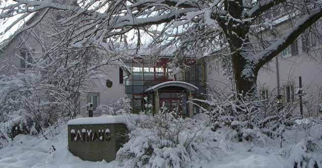 Rathaus Ansicht Winter