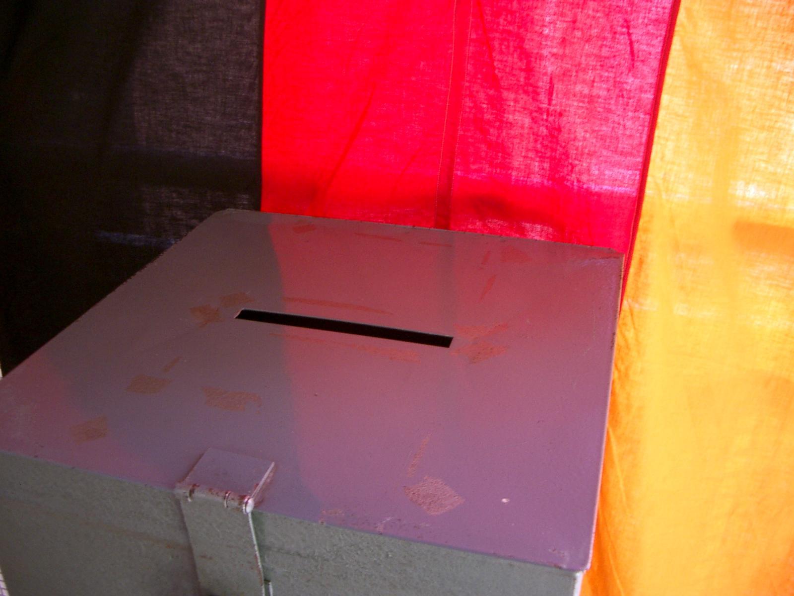 Bundestagswahlurne