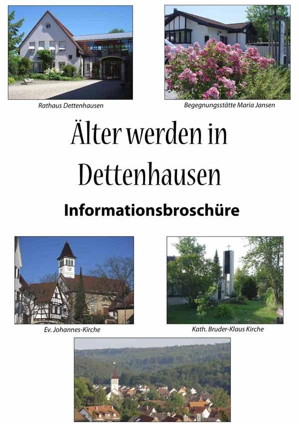 Titelseite-Broschüre Älter werden in Dettenhausen