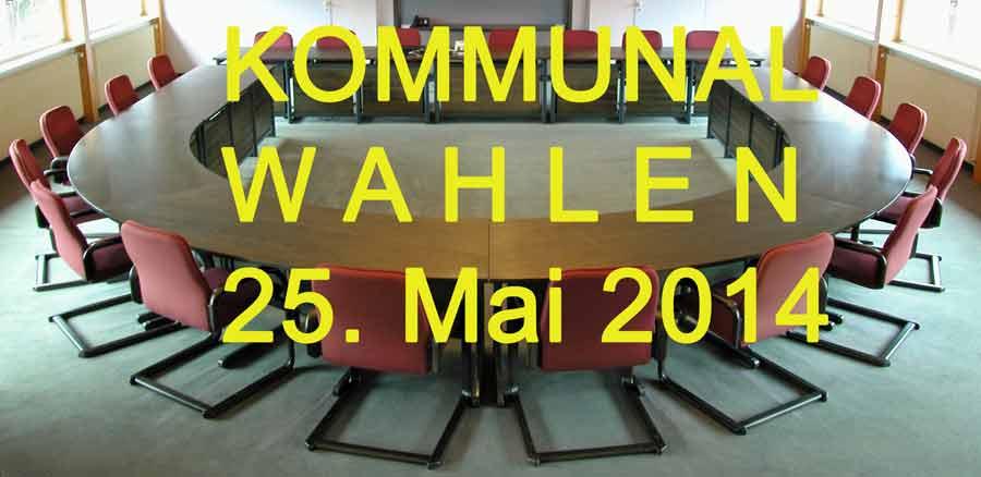 Kommunal Wahlen 2014 Foto Sitzungssaal