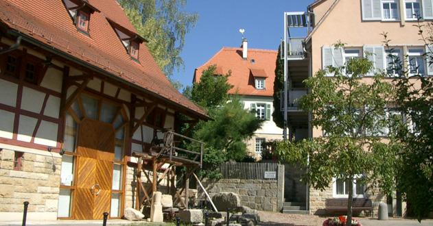 Schönbuch und Ringstraße im Ortskern