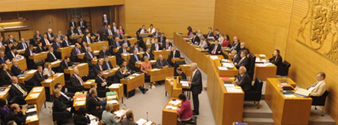 Landtag Plenarsaal