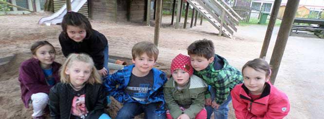 Kinder in der Kernzeitbetreuung