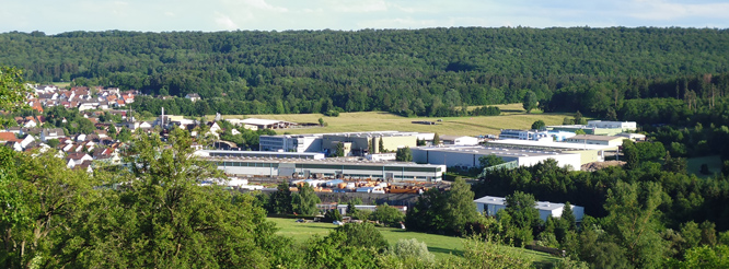 Luftbild Gewerbegebiet Kuchenaecker