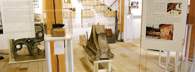 Innenraum des Schönbuchmuseums