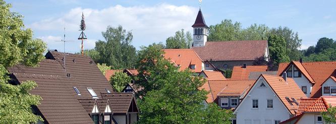 Blick über die Gemeinde