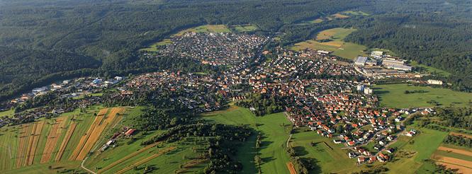 Gemeinde Dettenhausen im Naturpark Schönbuch