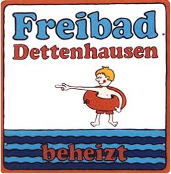 Freibadschild